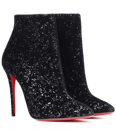 Eloise 100 glitter ankle boots