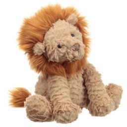 Jellycat - Brown Lion Soft Toy (23cm) | Childrensalon