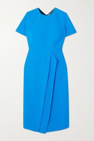 Primley Crepe Dress - Blue