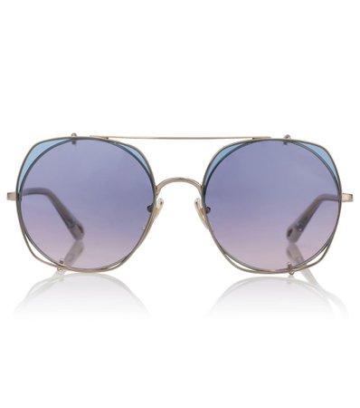 Chloé - Gafas de sol Demi estilo aviador | Mytheresa