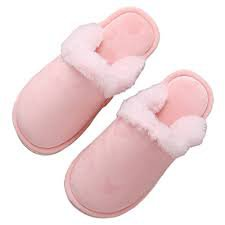 cute pink house shoes - Google Search