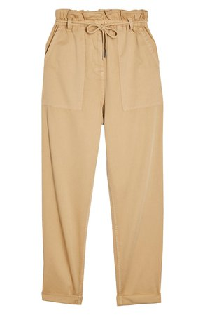 Topshop Marl Tapered Trousers | Nordstrom