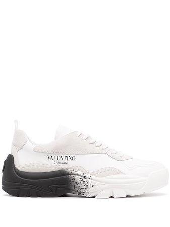 Valentino Garavani Gumboy spray paint sneakers - FARFETCH