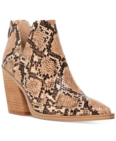 Steve Madden Women's Alyse Booties & Reviews - Boots - Shoes - Macy's brown
