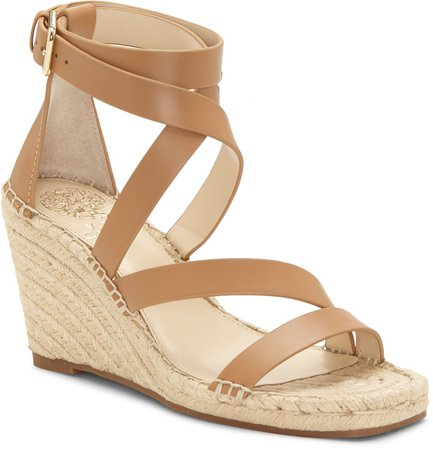 Mesteria Ankle Strap Espadrille Wedge Sandal