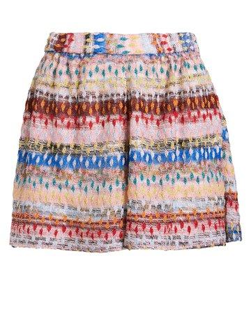 Jacquard Knit Shorts