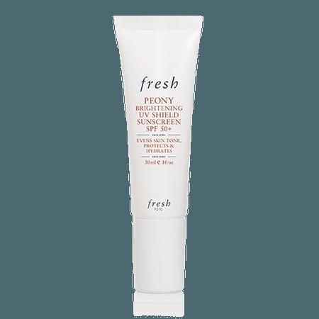 Fresh sunscreen