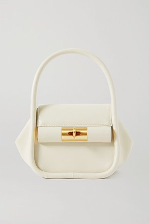 Love Leather Tote - Ivory