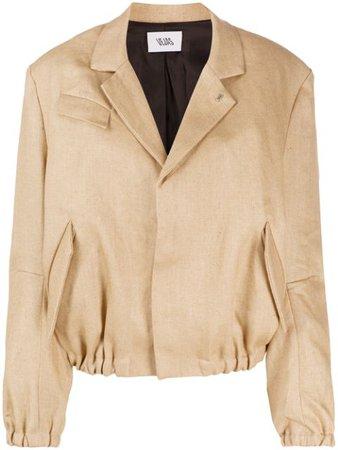 Vejas Gathered Blazer Jacket - Farfetch