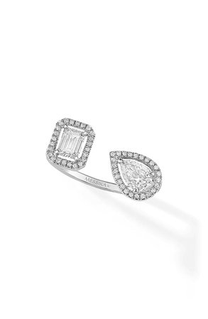 Messika My Twin Open Diamond Ring | Nordstrom