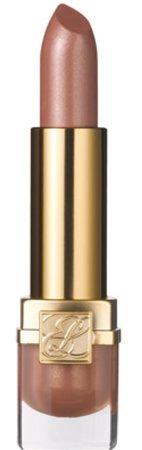 beige iridescent lipstick