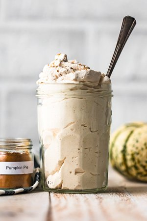 Pumpkin Spice Flavored Whipped Cream Recipe - The Cookie Rookie®