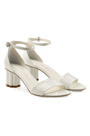 Eraclea Patent Leather Sandals Gr. US 6.5