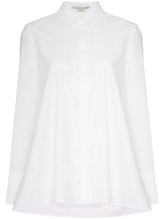 Camisa Con Dobladillo Acampanado Stella Mccartney Por 218€ - Compra Online Aw19 - Devolución Gratuita Y Pago Seguro