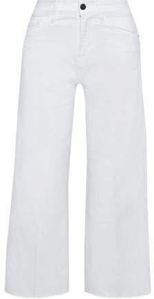 Le Vintage Crop High-rise Wide-leg Jeans