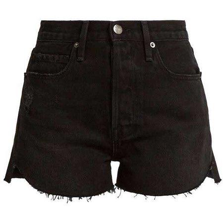 Frame Le Original tulip-hem denim shorts ($153)
