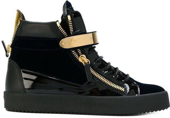 Carter mid-top sneakers