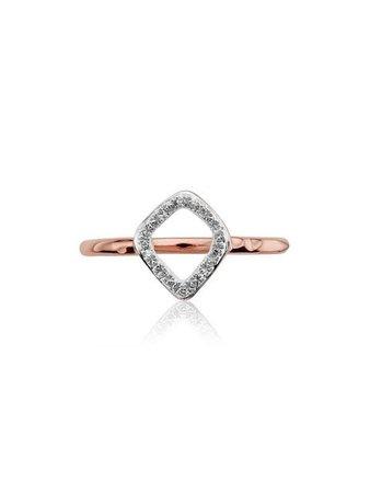 Monica Vinader 'RP Riva' Diamantenring - Farfetch