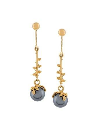 Kasun London Exposed Pearl Drop Earrings - Farfetch