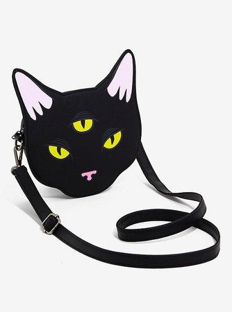 Loungefly Three-Eyed Cat Crossbody Bag