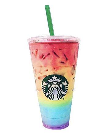 rainbow starbucks refresher drink