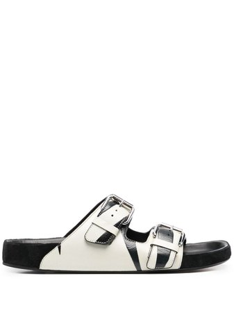 Isabel Marant Lennyo Flat Sandals - Farfetch
