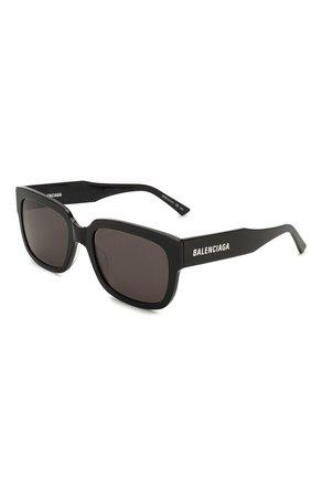 Женские черные солнцезащитные очки BALENCIAGA — купить за 19600 руб. в интернет-магазине ЦУМ, арт. BB0049 001