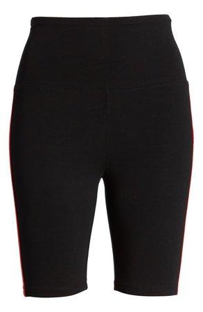BP. x Claudia Sulewski Side Stripe Biker Shorts black