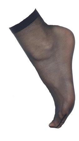 navy sheer sock