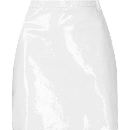 Patent Aline Pelmet Skirt By Boutique ($200)