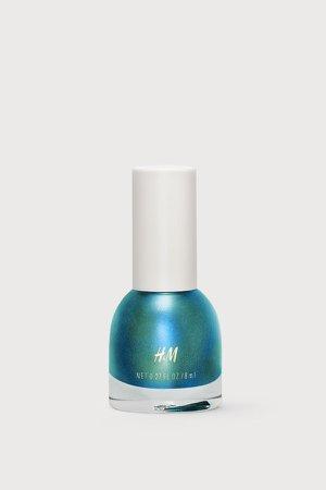 Nail polish - Green