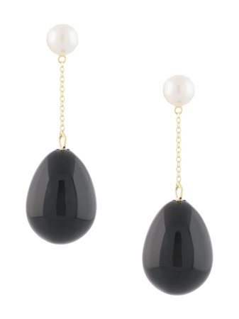 Eshvi Drop chain-link Earrings - Farfetch