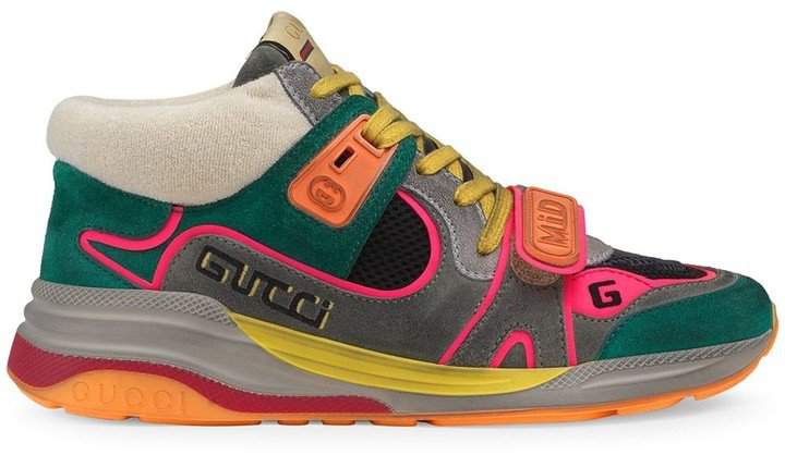 Ultrapace mid-top sneakers