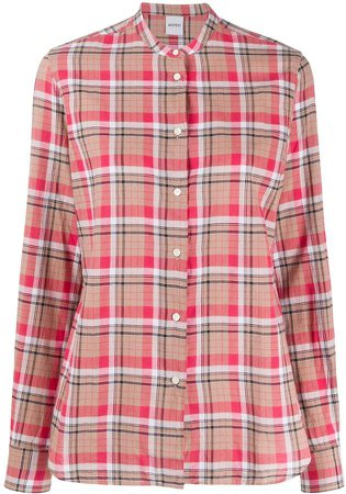 Checked Long-Sleeve Shirt