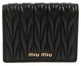 Matelasse Leather Wallet