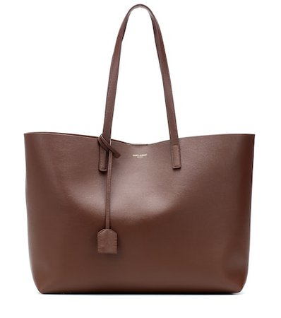 Large leather shopper