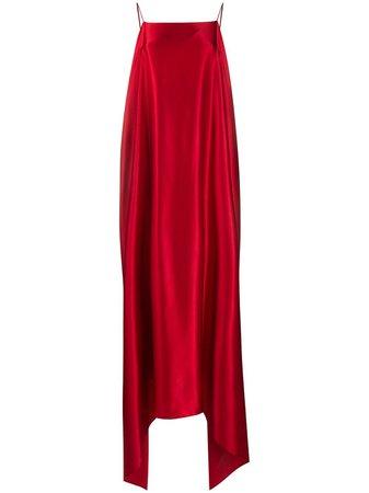 Red Bernadette high-low maxi dress - Farfetch