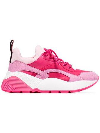 Stella McCartney pink Eclypse 45 low top sneakers
