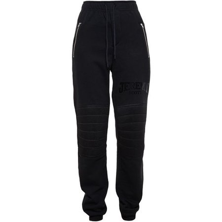 JEREMY SCOTT Logo Cotton Sweatpants