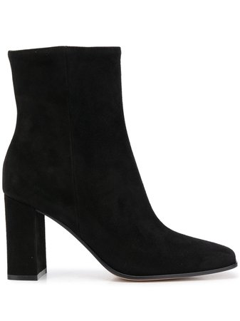 Gianvito Rossi suede ankle boots - FARFETCH