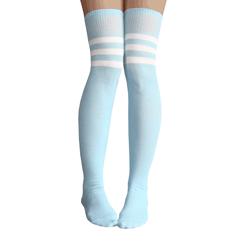 Baby blue socks