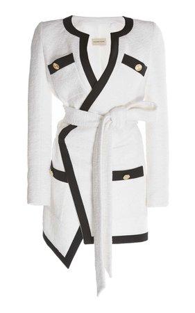 Self-Belted Cotton Dress by Alexandre Vauthier | Moda Operandi