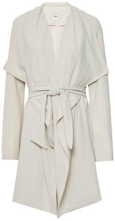 **Only Cream Beige Shawl Wrap Coat