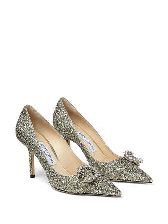 Jimmy Choo  Glitter Pumps heels