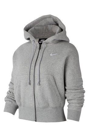 Sportswear Fleece Full Zip Hoodie   Nordstrom