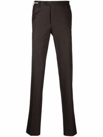 Corneliani straight-leg tailored trousers - FARFETCH