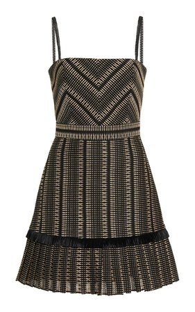 Grazie Jacquard Mini Dress By Alexis | Moda Operandi