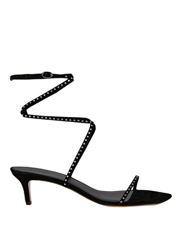 Isabel Marant Aridee Leather Wrap Sandals | INTERMIX®