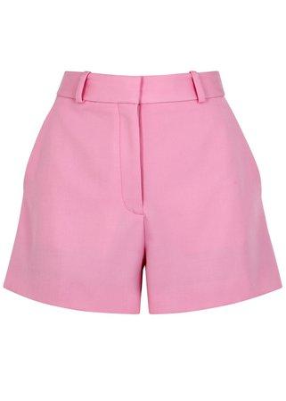 Stella McCartney Pink wool shorts - Harvey Nichols