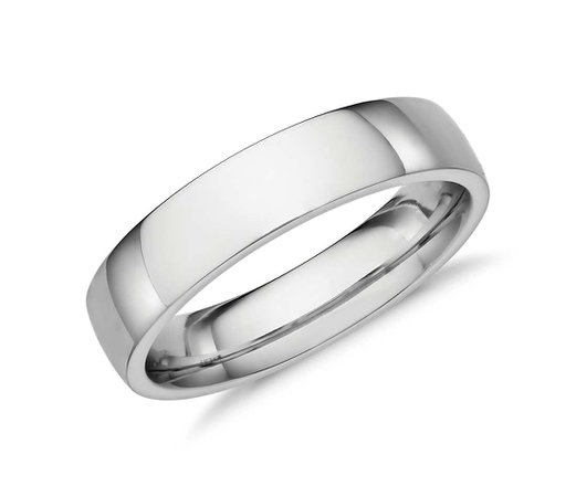 Blue Nile Men's Wedding Ring